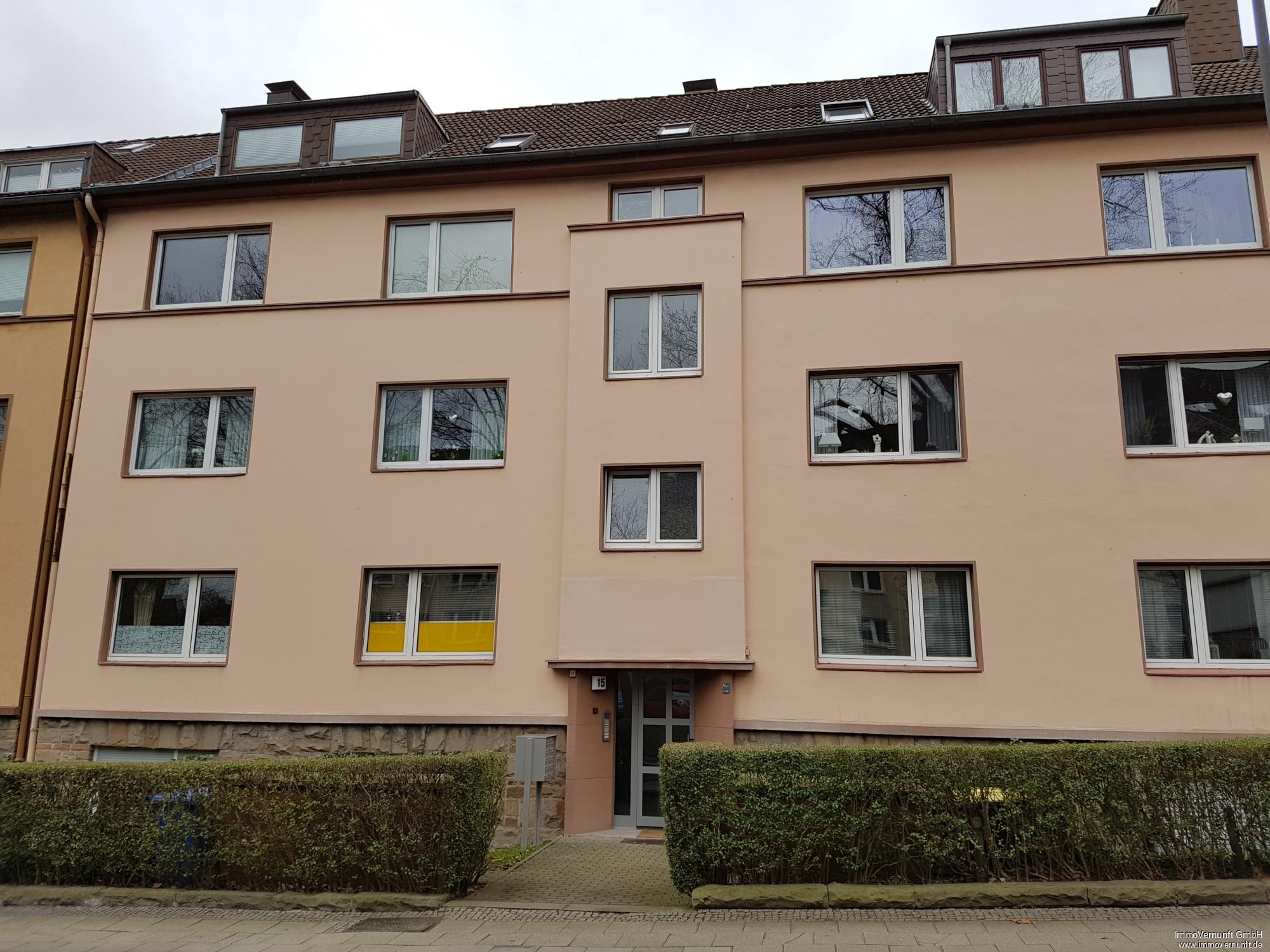 """""""Renovierte, 55 m² große Eigentumswohnung im Südostviertel von Essen"""" 45138 Essen (Stadtbezirke I), Dachgeschosswohnung"""